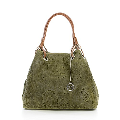 Mia Tomazzi WB135295-TAUPE (36) - taupe - 459EUR - Handbag - Handcrafted in Italy uvWOa