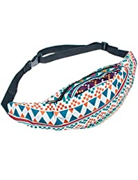 Buyworld Transer Unisex Fashion Belt Waist Bag Pouch Zipper Fanny Pack Money Belt Travelling Mobile Phone Bag A9