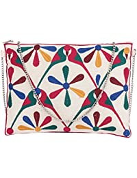 Diwaah Non Leather Multicolor Sling Bag