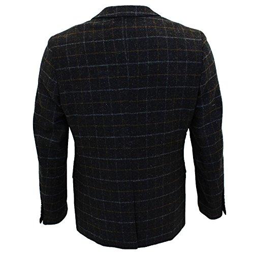 Marc Darcy - Gilet - Homme * Auditor's Target Value Blazer (Harris-Black)