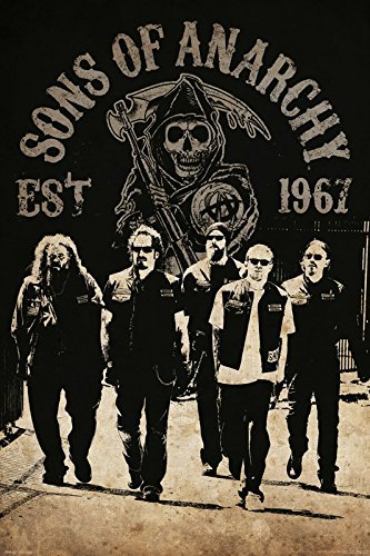 Sons of Anarchy Maxi Poster Reaper Crew 61 x 91,5 cm
