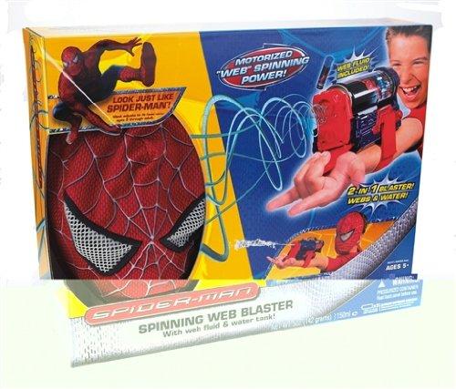 Hasbro - Spider-Man Trilogie 69741/69459 Spider-Man Deluxe Web Blaster Roleplay Set