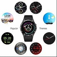 Preisvergleich für Bluetooth Smart Armbanduhr Pulsmesser Sportuhr,Schrittzähler,Aussehen Vogue,Sleep Monitor,Multifunktionale,Herzfrequenzmessung,intelligente Uhr sport uhr,groß mit Geräuschaktivierung und Temperaturanzeige