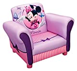 Delta Children - TC85604MM - Minnie - Fauteuil Rembourré - Rose