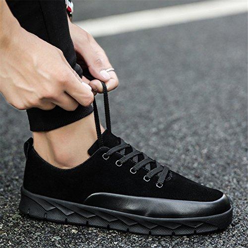 moda maschile espadrilli, l'autunno e l'inverno del tempo libero le scarpe, scarpe da corsa black