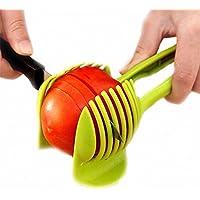 Net solutions - Affetta-pomodori, patate, limoni, e molti altri... Con un supporto per tenere saldo l'attezzo.