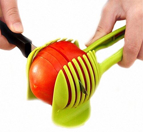 Allesschneider, Tomaten, Kartoffeln, Zitronen, und viele andere... mit einen Halter für Halten Fest das Werkzeug