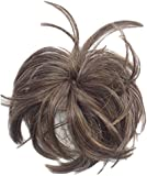 HAIR EXTENSION SCRUNCHIE UP DO DOWN DO SPIKY TWISTER