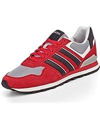 adidas 10K Zapatillas, Hombre, Rojo, 43 1/3