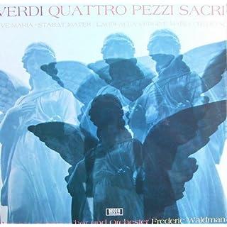 Verdi: Quattro Pezzi Sacri (Vier geistliche Stücke) [Vinyl LP] [Schallplatte]