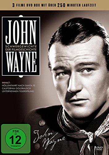 John Wayne (3 Filme) - Schwergewichte der Filmgeschichte