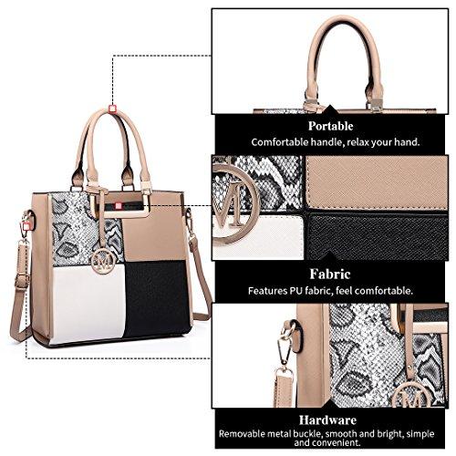 Miss Lulu ,  Damen handtaschen Braun