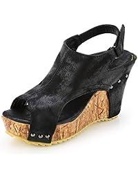 Suchergebnis auf für: Sandaletten Keilabsatz, Kork