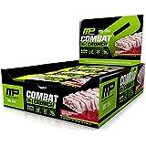 12 x Combat Crunch Protein Bar 63 g Chocolat Blanc - Framboise