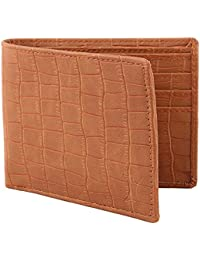 Creature Bi-Fold Tan Pu-Leather Designer Wallet For Men/Boys With Multiple Card Slots(Colour-Tan||WL-044)