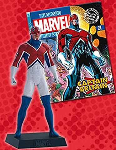 Marvel Figurine Collection #21 Captain B ritain (Die X-men Kostüme)