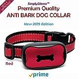 NEU Anti Bell Hundehalsband | Harmlos! | Stoppt das Bellen von Hunden Mit Ton & Vibration, Kein Schock, 7 Verstellbare Stufen-Bell! Kein Halsband für Kleine Mittelgroße und Große Hunde. Wasserdicht.