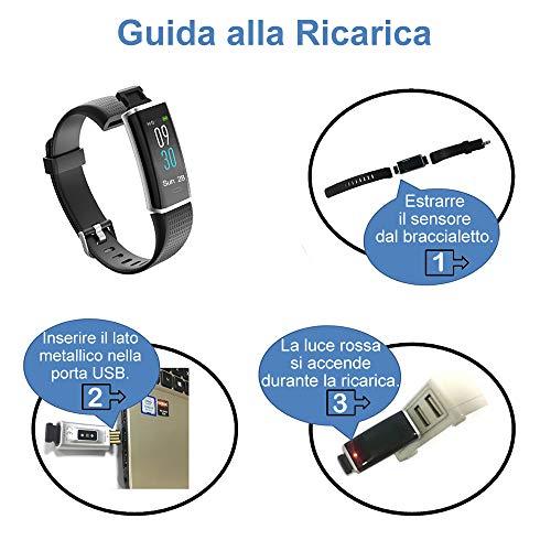 Zoom IMG-6 willful orologio fitness tracker uomo