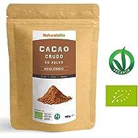 Cacao crudo Ecológico en Polvo 900g | Organic Raw Cacao Powder | 100% Bio, Natural y Puro | Producido en Perú a partir de la planta Theobroma Cacao | Rico en antioxidantes, minerales y vitaminas.