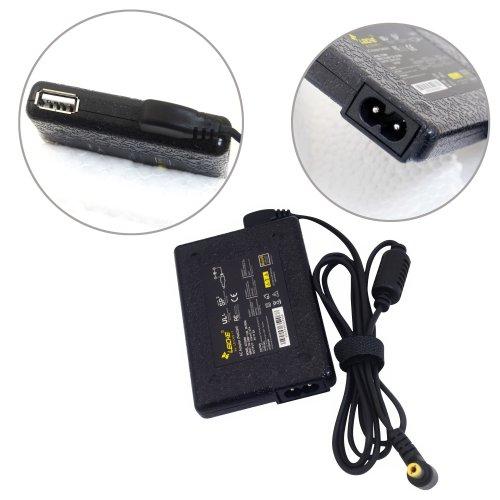 LEICKE AC 18.5V 3.5A Green Ultra Slim Adapter Netzteil für HP und Compaq | 65 Watt mit Stecker 4,8*1,7mm (Ac Adapter Von Hp Compaq)