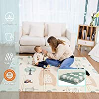 Baby Play mat, playmat,Baby mat Folding Extra Large Thick Foam Crawling playmats Reversible Waterproof Portable playmat for Babies