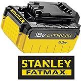 Stanley FatMax FMC688L-XJ Batterie Li-ion 18V et 4,0A