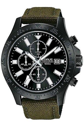 Lorus Reloj Cronógrafo para Hombre de Cuarzo con Correa en Tela RM301EX9