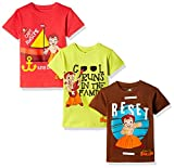 #6: Chhota Bheem Boys' T-Shirt (Pack of 3)