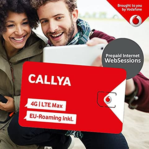Vodafone Freikarte CallYa WebSessions + web Basic Paket