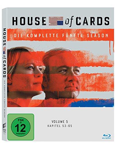 Produktbild House of Cards - Die komplette fünfte Season (4 Discs) [Blu-ray]