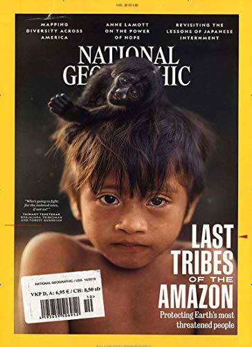National Geographic Magazin (National Geographic USA [Abonnement jeweils 3 Ausgaben jedes Vierteljahr])