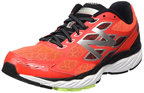 New Balance M_w880v5, Running homme Rouge - Red (Red/Silver/Yellow)