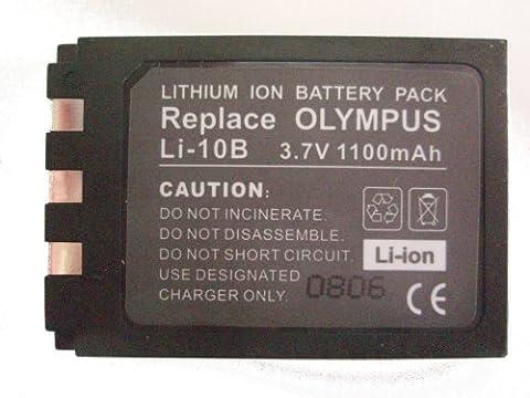 Li10B / Li-10B 3.7V 1100mAh High capacity replacement Li ion