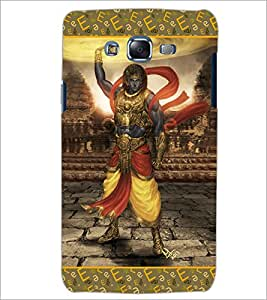 PrintDhaba Lord Krishana D-5698 Back Case Cover for SAMSUNG GALAXY J5 (Multi-Coloured)