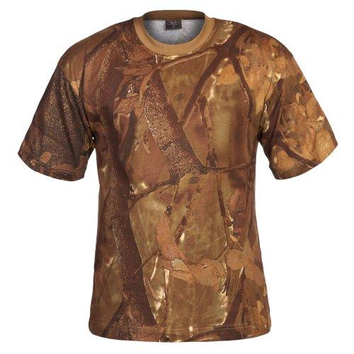 US T-Shirt, halbarm hunter-grün/snow/braun Hunter-Braun