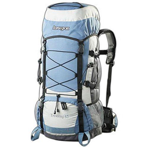 AspenSport Rucksack Trekking, mehrfarbig, 80 x 40 x 25 cm, 65 Liter, AB04Y04