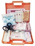 Erste-Hilfe-set mit Füllung DIN 13157 ( Verbandbuch, Notfall-Beatmungshilfe, Alkoholtupfern,...)