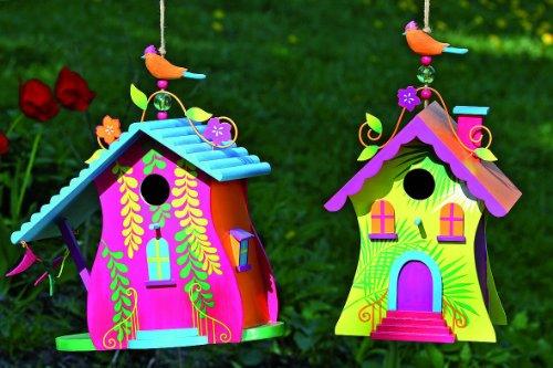 Vogelhaus Villa Holz Bunt 2 Varianten Boltze Nr 8907600