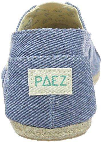 Paez Original Raw Essentials Woods, Espadrilles mixte adulte Blau (Blue 0035)