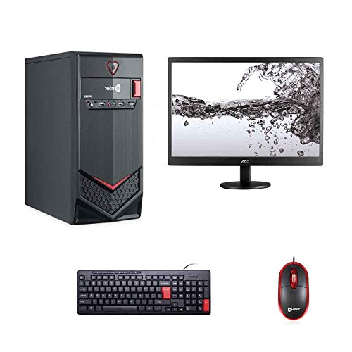 Gamebox Complete Desktop 15.6 Inch Aoc Monitor Pc Cpu Computer (core 2 Duo 2.66ghz & Above/ 4 Gb / 500gb Hdd/lg Dvd Writer/dos) ,mouse/keyboard With Wifi