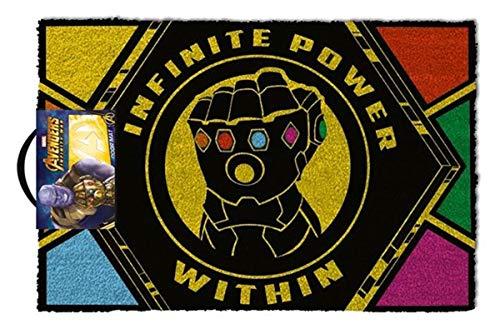 Avengers Infinity War - Doormat Infinite Power