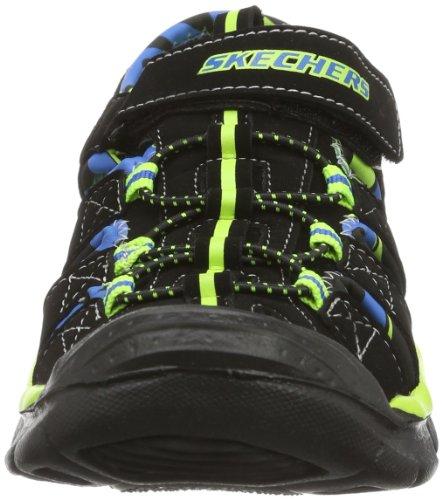 Skechers Relix, Sandali Sportivi Unisex – Adulto Nero (BKLM)