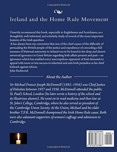 Ireland and the Home Rule Movement: Irish History