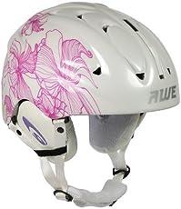 AWE® Damen In-Mould Skihelme rosa/weiße Größe: 56-58cm