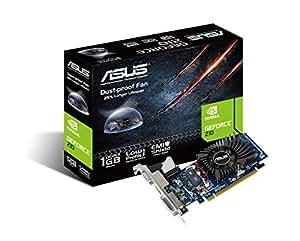 ASUS 210-1GD3-L GeForce 210 Nvidia Graphics Card (1 GB DDR3, PCI Express 2.0, HDMI, Dual-link DVI, Dust-Proof Fan)
