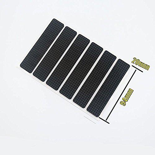 ShineCozy Bodenschoner für Stuhlbeine. Schützen Hartholz- und Laminatböden., Ethylenvinylacetat, 94*20mm (Stick Fliesenboden)