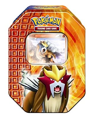 Pokemon PL Tin Deck Box 18 Entei - Juego de cartas, diseño de Pokémon por Universal Trends