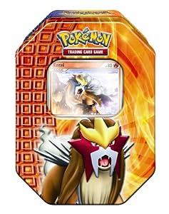 Pokemon PL Tin Deck Box 18 Entei - Juego de cartas, diseño de Pokémon