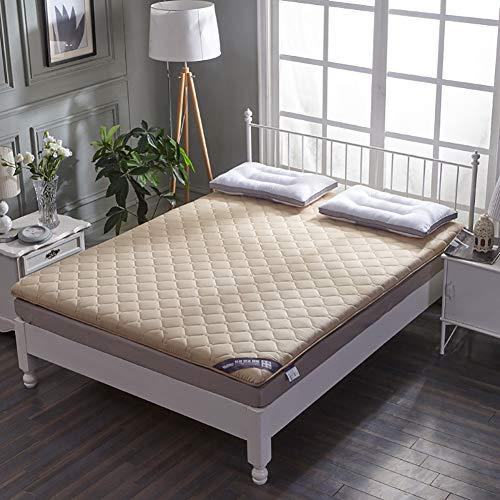 qwqqaq Verdicken Bett Matratze,japanisch Matratze Tatamimatte Schlafen Pad Gesteppte Matratzenauflagen Pad Nicht-Slip Zu Schlafzimmer-schlafsaal W 135x200x5cm(53x79x2inch)