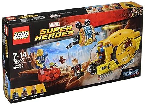 LEGO - 76080 - Jeux de Construction - Ravager Attack Marvel
